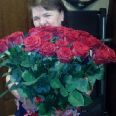 Букет бортовых роз